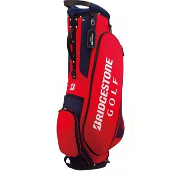 TimeForGolf - Bridgestone bag stand Light CBG717 červeno modrý