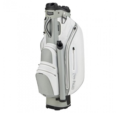TimeForGolf - Bennington Cart Bag Dry QO 9 Waterproof White / Silver