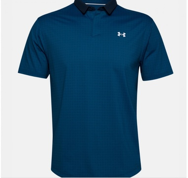 TimeForGolf - Under Armour polo Iso Chill Grid modré