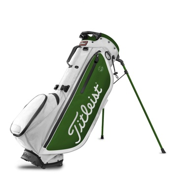 TimeForGolf - Titleist bag stand Players 4+ bílo zelený