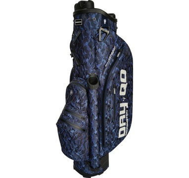 TimeForGolf - Bennington Cart Bag Dry QO 9 Waterproof Blue Camo / Navy