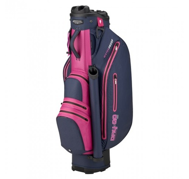 TimeForGolf - Bennington Cart Bag Dry QO 9 Waterproof Navy / Purple / Pink