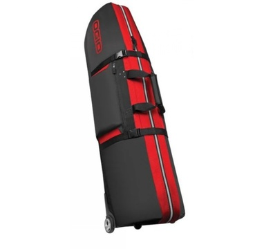TimeForGolf - Ogio travel cover Straight Jacket šedo červený