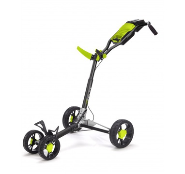 TimeForGolf - SunMountain REFLEX Cart - 4kolový vozík Black/lime