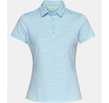 TimeForGolf - Under Armour W polo Zinger SS Novelty světle modré L