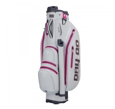 TimeForGolf - Bennington Cart Bag Dry QO 9 Waterproof Grey / Pink