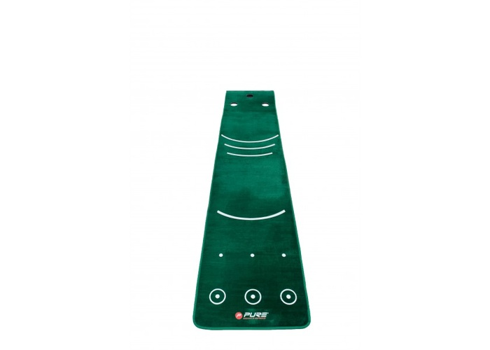 TimeForGolf - PURE2IMPROVE patovací koberec Putting Mat With Broom