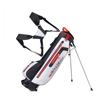 TimeForGolf - Bennington Stand bag Mini Waterproof Black/White/Red