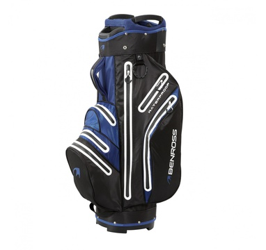 TimeForGolf - Benross bag cart Pro-Tec Waterproof Blue černo modrý