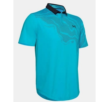TimeForGolf - Under Armour polo Iso Chill Shadow modré