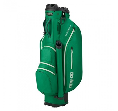 TimeForGolf - Bennington Cart Bag Dry QO 9 Waterproof British Green / Silver