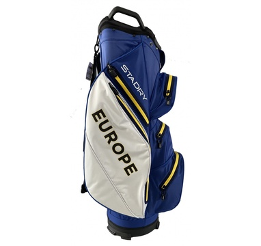 TimeForGolf - Titleist bag cart Stadry Ryder Cup 2020 Limited Edition modro bílo žlutý