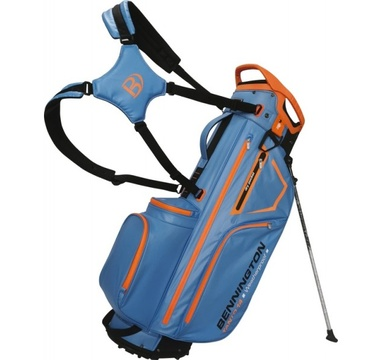 TimeForGolf - Bennington Stand bag TANTO 14 Water Resistant Cobalt / Orange