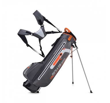 TimeForGolf - Bennington Stand bag Mini Waterproof Canon Grey/White/Orange