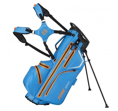 TimeForGolf - Bennington Stand bag ZONE Waterproof Cobalt / Orange / White