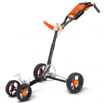 TimeForGolf - SunMountain REFLEX Cart - 4kolový vozík White/Orange