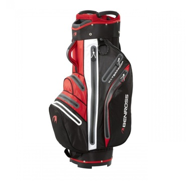 TimeForGolf - Benross bag cart Pro-Tec Waterproof Black/Red černo červený
