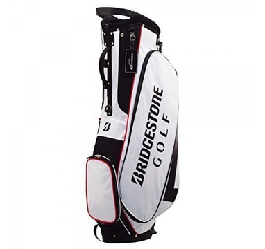 TimeForGolf - Bridgestone bag stand Light CBG717 bílo černý