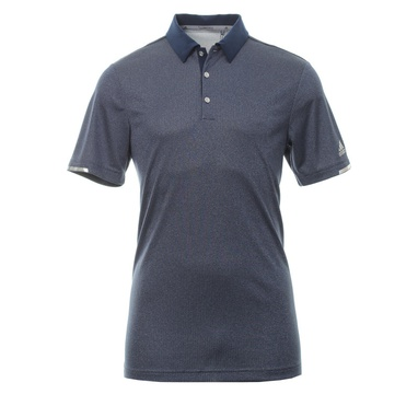 TimeForGolf - Adidas polo ClimaChill Core Heather tmavě modré S