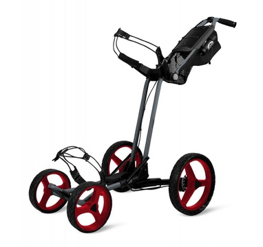 TimeForGolf - Sun Mountain čtyřkolový vozík PATHFINDER4 Magnetic grey/red