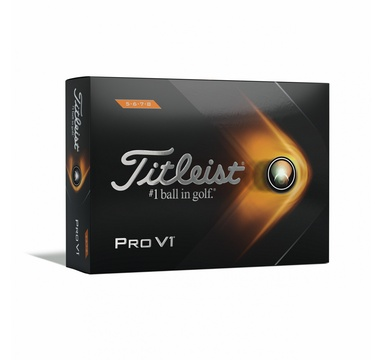 TimeForGolf - Titleist ball PRO V1 12ks High Numbers 5,6,7,8 2021