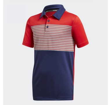 TimeForGolf - Adidas Jr polo Engineered červené
