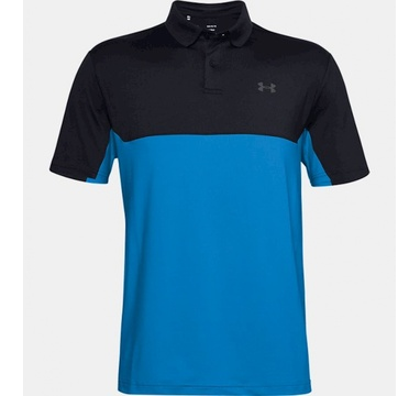 TimeForGolf - Under Armour polo Performance 2.0 Colorblock černo modré
