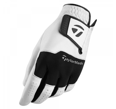 TimeForGolf - TaylorMade rukavice Stratus Leather bílo černá LH ML