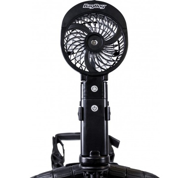 TimeForGolf - Bag boy 3 in 1 Cart Fan Black