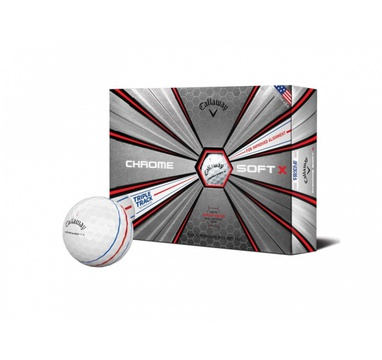 TimeForGolf - Callaway balls Chrome Soft TRIPLE TRACK 20 4-plášťové 3ks