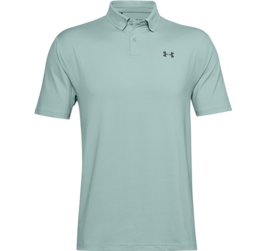 TimeForGolf - Under Armour polo Performance 2.0 Enamel Blue/Pitch Gray modro šedé