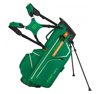 TimeForGolf - Bennington Stand bag ZONE Waterproof British Green / Silver