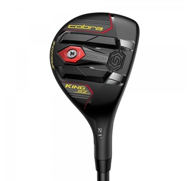 TimeForGolf - Cobra hybrid King Speedzone Black/Yellow #3 19° graphite Recoil ESX 480 stiff RH