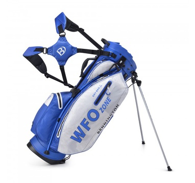 TimeForGolf - Bennington Stand bag Zone WFO Waterproof Royal/White