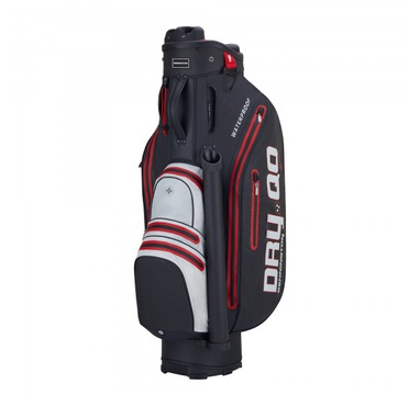 TimeForGolf - Bennington Cart Bag Dry QO 9 Waterproof Black / White / Red