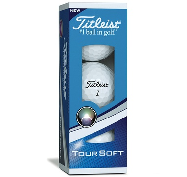 TimeForGolf - Titleist ball Tour Soft White 2018 3ks