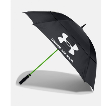 TimeForGolf - Under Armour deštník Golf Umbrella Double Canopy černý
