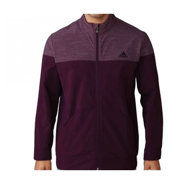 TimeForGolf - Adidas bunda Hybrid Heather vínová