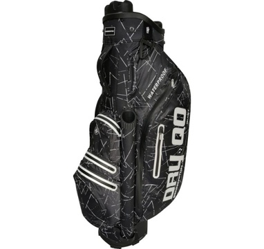 TimeForGolf - Bennington Cart Bag Dry QO 9 Waterproof Black Flash / White