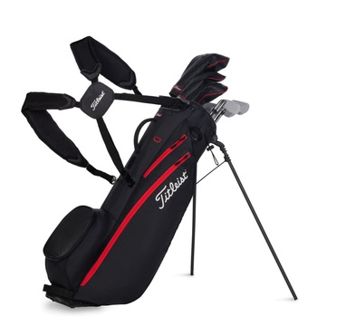 TimeForGolf - Titleist bag stand Players 4 Carbon černý