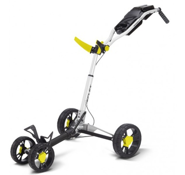 TimeForGolf - SunMountain REFLEX Cart - 4kolový vozík White/Yellow