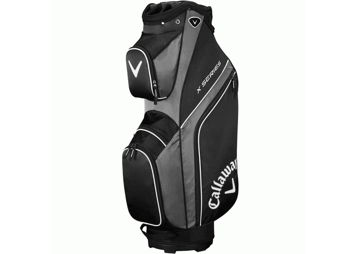 TimeForGolf - Callaway bag cart X Series černo šedý
