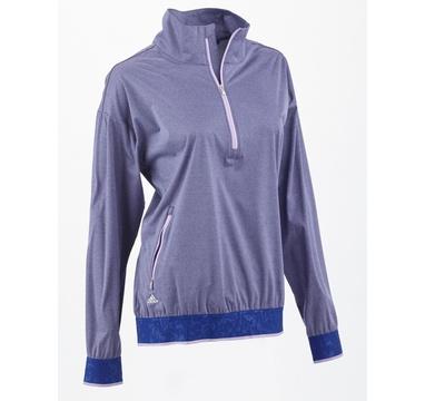 TimeForGolf - Adidas W mikina Climastorm Half Zip fialová d01168de7f1