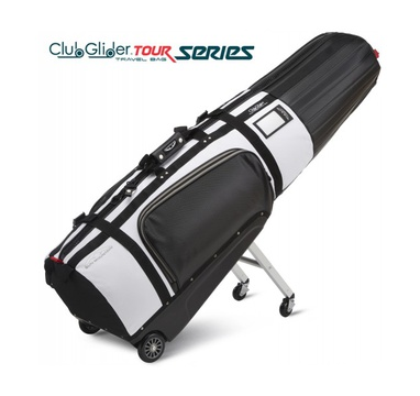 TimeForGolf - Sun Mountain Travel cover CLUB GLIDER TOUR SERIES Black/White