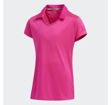 TimeForGolf - Adidas Jr polo Solid Fashion růžové
